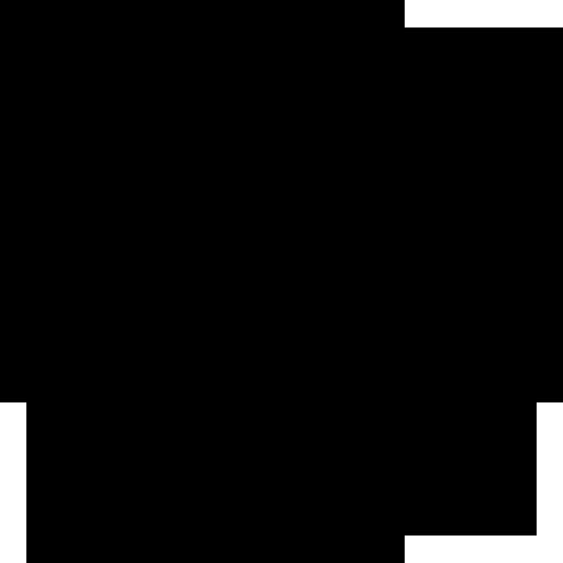 Nations Church Black Logo