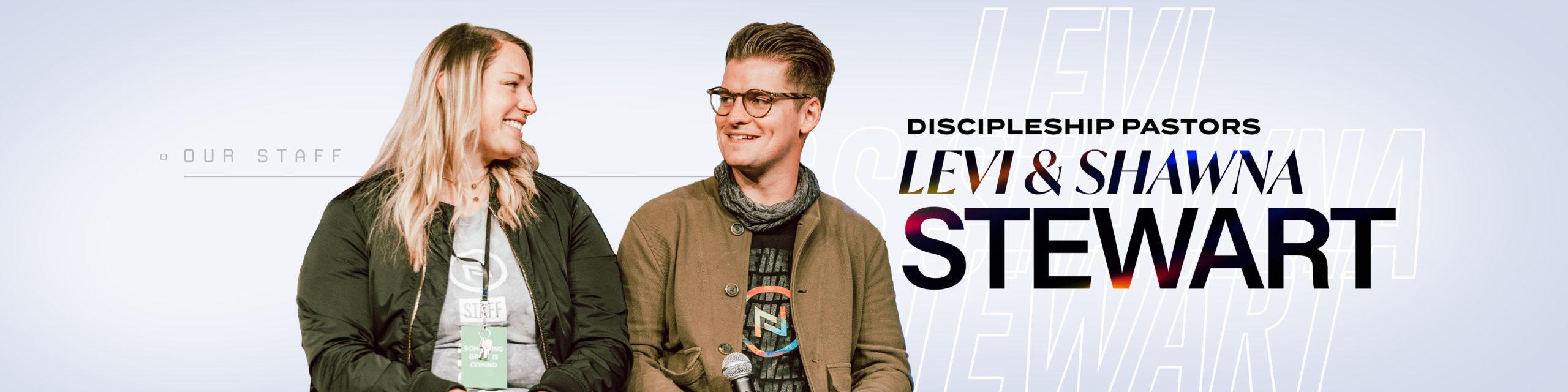 Levi and Shawna Stewart - Discipleship Pastors of Nations Church Orlando