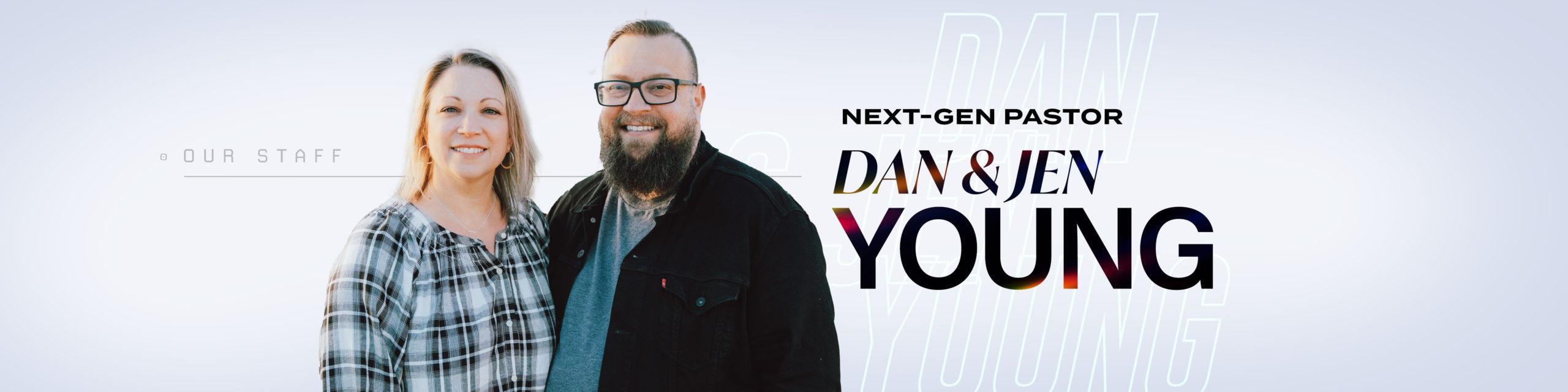 Dan and Jen Young - Next Gen Pastors of Nations Church Orlando