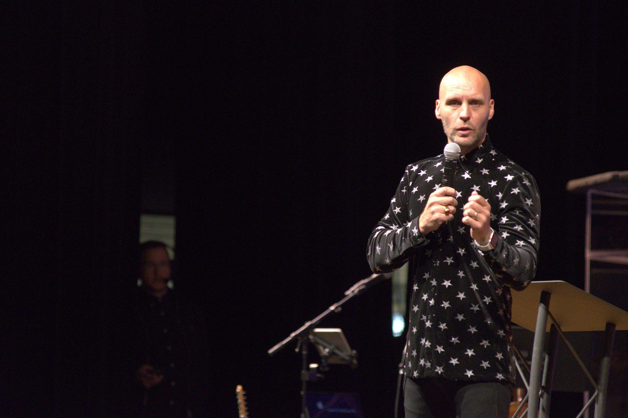 Evangelist Scott Mcnama Teaching at Nations Church Orlando