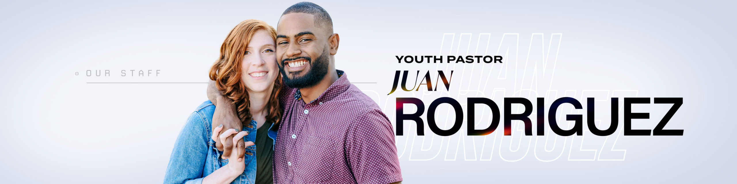 Youth Pastor Juan Rodriguez