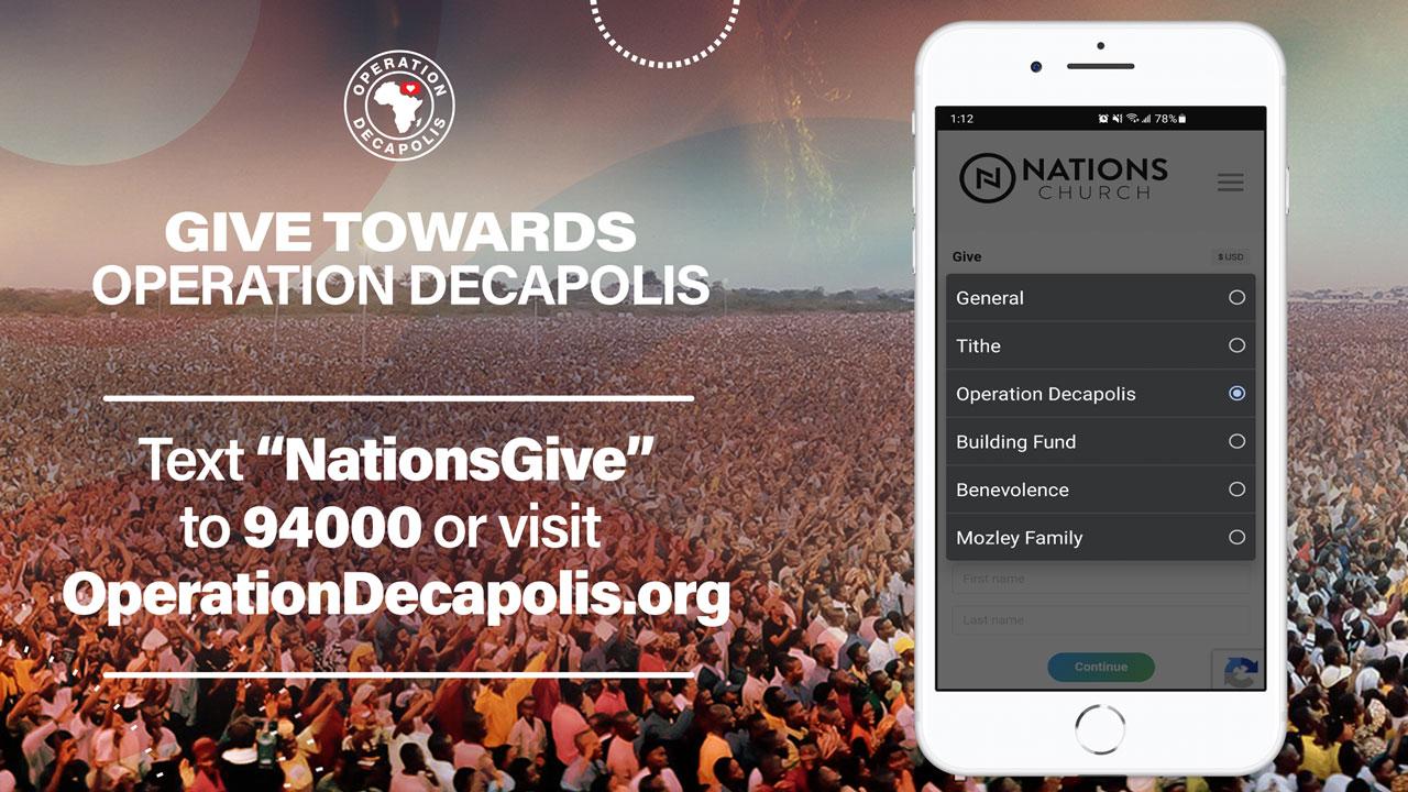 Decapolis Giving